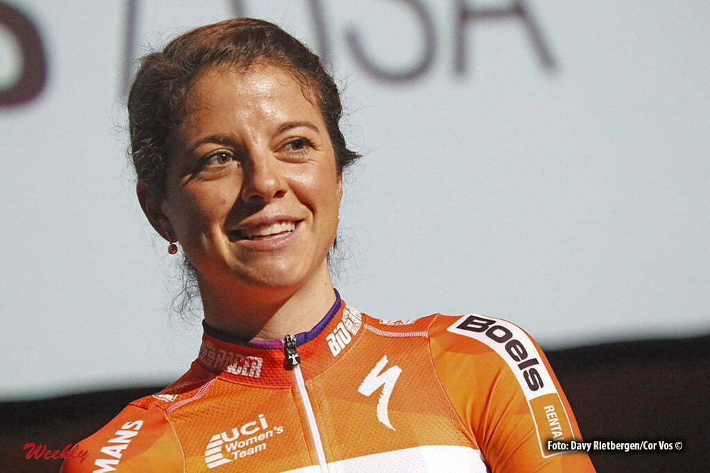 Kaatsheuvel - De Efteling - Netherlands - wielrennen - cycling - radsport - cyclisme - Stevens Evelyn (USA / Boels Dolmans Cycling Team) pictured during team presentation Boels - Dolmans women's team - photo Davy Rietbergen/Cor Vos © 2016