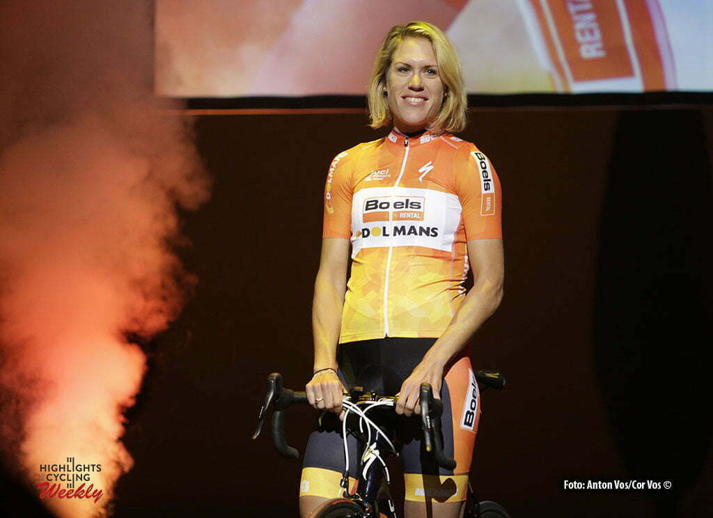 Kaatsheuvel - De Efteling - Netherlands - wielrennen - cycling - radsport - cyclisme - Van Dijk Ellen (Netherlands / Boels Dolmans Cycling Team) pictured during team presentation Boels - Dolmans women's team - photo Anton Vos/Cor Vos © 2016