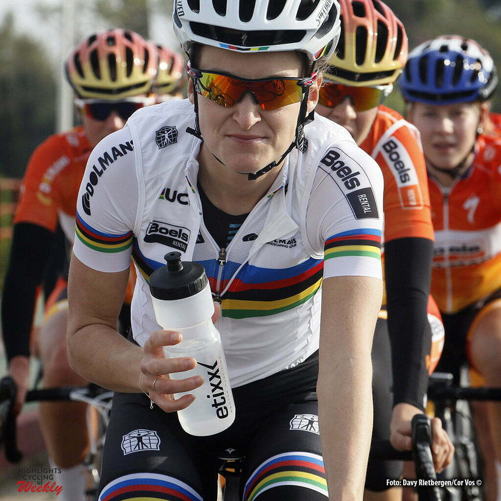 Moraira - Spain - wielrennen - cycling - radsport - cyclisme - Elizabeth Lizzie Armitstead (Great Britain / Boels Dolmans Cycling Team) pictured during training stage women's team Boels - Dolmans in Moraira, Spain - photo Davy Rietbergen/Cor Vos © 2016