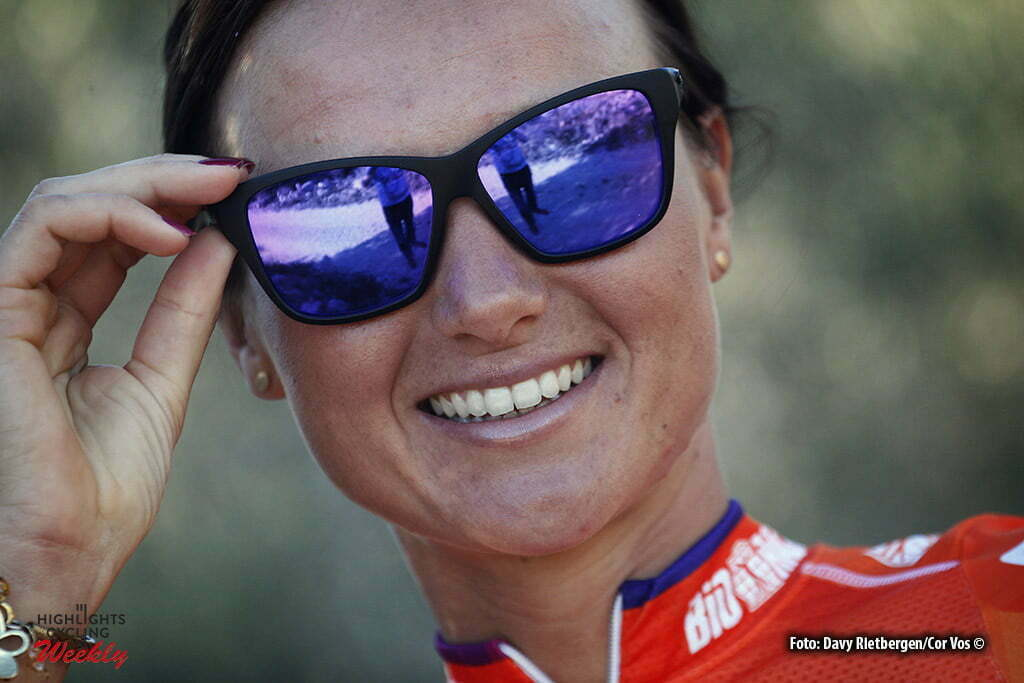 Moraira - Spain - wielrennen - cycling - radsport - cyclisme - Chantal Blaak (Netherlands / Boels Dolmans Cycling Team) pictured during training stage women's team Boels - Dolmans in Moraira, Spain - photo Davy Rietbergen/Cor Vos © 2016