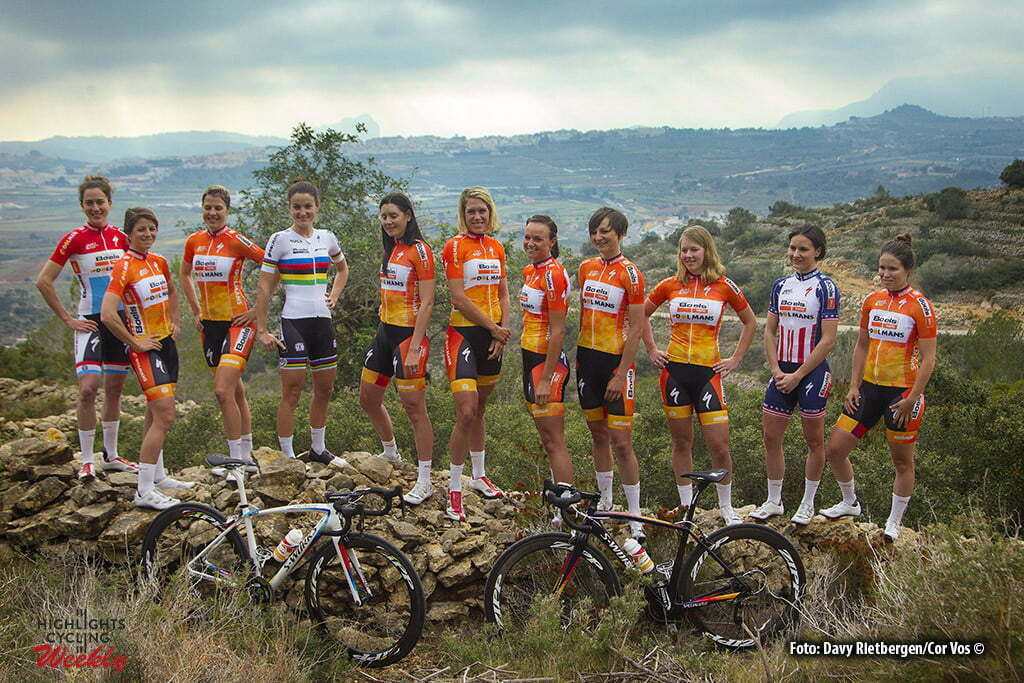 Moraira - Spain - wielrennen - cycling - radsport - cyclisme - Boels Dolmans Cycling Team pictured during training stage women's team Boels - Dolmans in Moraira, Spain - photo Davy Rietbergen/Cor Vos © 2016