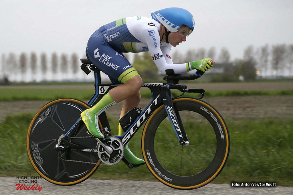 Borsele - Netherlands - wielrennen - cycling - radsport - cyclisme - Van Vleuten Annemiek (Netherlands / Orica AIS) pictured during the Time Trial Individual women in Borsele - photo Anton Vos/Cor Vos © 2016