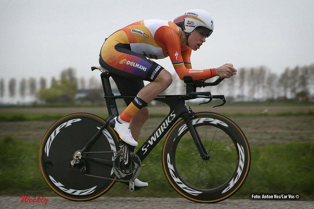 Borsele - Netherlands - wielrennen - cycling - radsport - cyclisme - Van Dijk Ellen (Netherlands / Boels Dolmans Cycling Team) pictured during the Time Trial Individual women in Borsele - photo Anton Vos/Cor Vos © 2016
