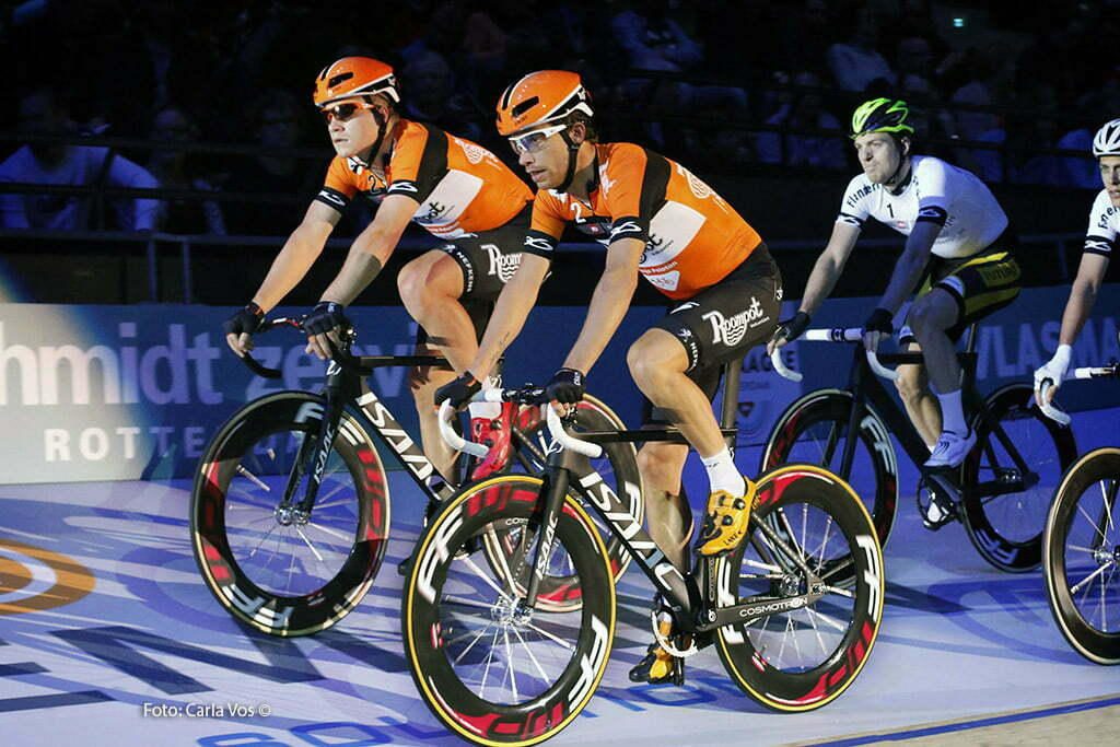 Rotterdam - wielrennen - cycling - radsport - cyclisme - teampresentation - Andre Looij - Michel Kreder pictured during the Zesdaagse Rotterdam 2016 - foto Carla Vos/Cor Vos © 2016