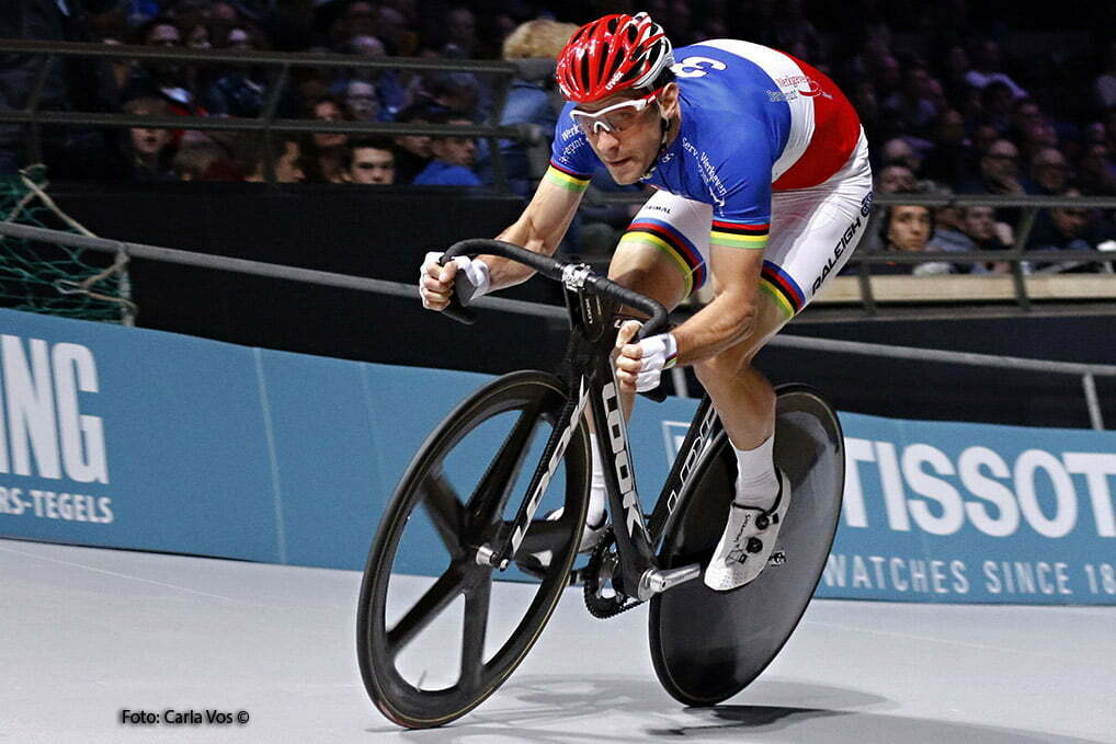 Rotterdam - wielrennen - cycling - radsport - cyclisme - teamsprint - Christian Kneisky pictured during the Zesdaagse Rotterdam 2016 - foto Carla Vos/Cor Vos © 2016