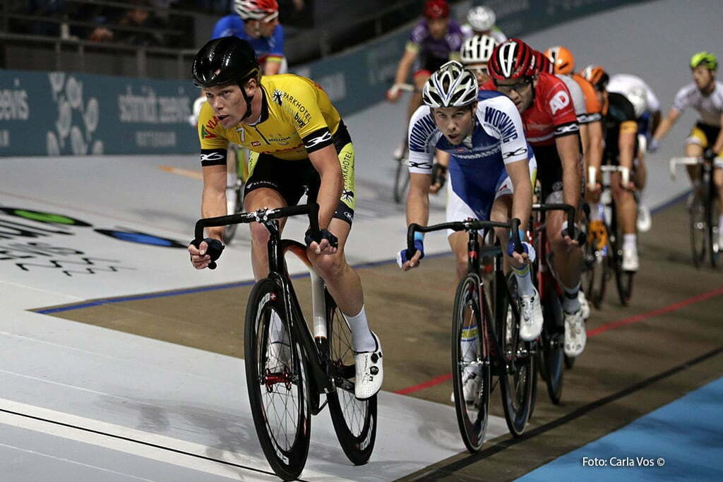 Rotterdam - wielrennen - cycling - radsport - cyclisme - Wim Stroetinga - madison - koppelkoers - pictured during the Zesdaagse Rotterdam 2016 - foto Carla Vos/Cor Vos © 2016