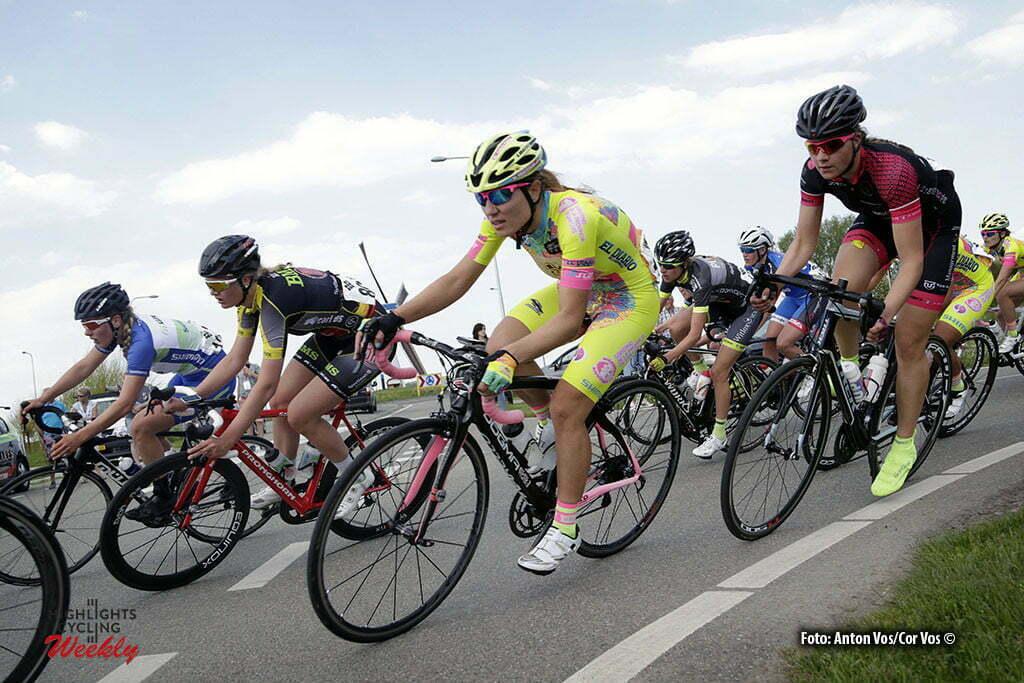 Aalburg - Netherlands - wielrennen - cycling - radsport - cyclisme - Pintos Valeria (Argentina / Xirayas de San Luis) pictured during the Rabobank 7-Dorpenomloop 2016 in Wijk en Aalburg - photo Anton Vos/Cor Vos © 2016