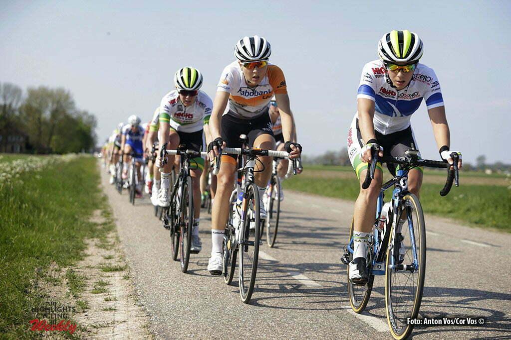 Aalburg - Netherlands - wielrennen - cycling - radsport - cyclisme - Gillow Shara (Australia / Rabobank Liv Women Cycling Team) pictured during the Rabobank 7-Dorpenomloop 2016 in Wijk en Aalburg - photo Anton Vos/Cor Vos © 2016