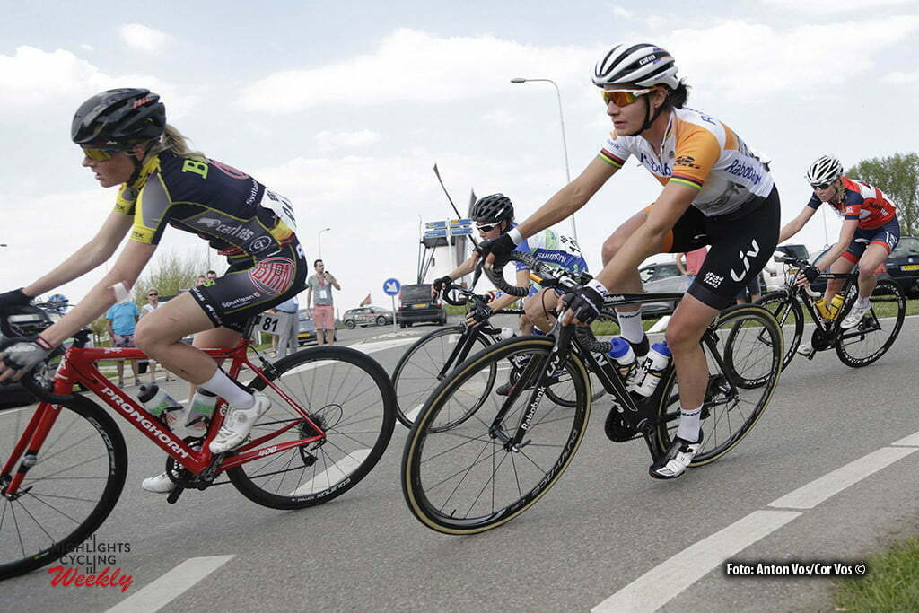 Aalburg - Netherlands - wielrennen - cycling - radsport - cyclisme - Vos Marianne (Netherlands / Rabobank Liv Women Cycling Team) pictured during the Rabobank 7-Dorpenomloop 2016 in Wijk en Aalburg - photo Anton Vos/Cor Vos © 2016