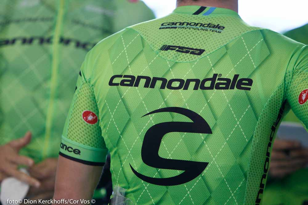 Adelaide - Australia - wielrennen - cycling - radsport - cyclisme - illustration - sfeer - illustratie Cannondale Pro Cycling Team pictured during the day's before the start of the Santos Tour Down Under 2016 - photo Dion Kerckhoffs/Cor Vos © 2016