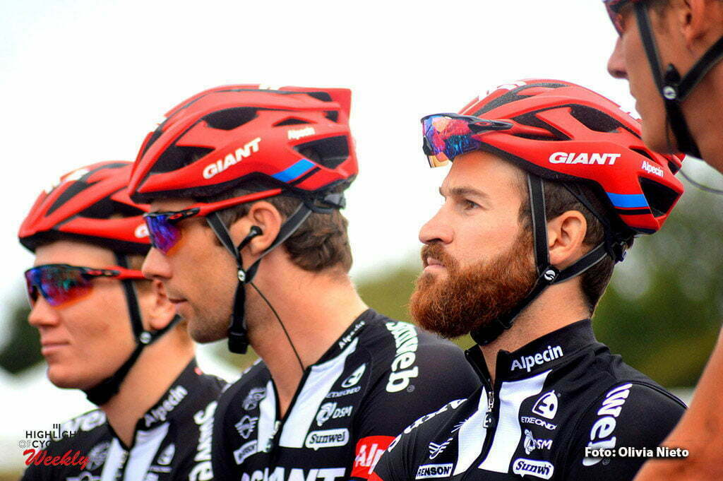 Plouay - France - wielrennen - cycling - radsport - cyclisme - Geschke Simon (Germany / Team Giant - Alpecin) - Timmer Albert (Netherlands / Team Giant - Alpecin) pictured during the 50th Bretagne Classic - Ouest-France 2016 in Plouay, France - photo Olivia Nieto/Cor Vos © 2016