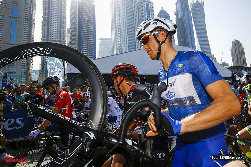 Palm Jumeirah - Emirates - wielrennen - cycling - radsport - cyclisme - Marcel Kittel (Etixx - Quick Step) pictured during Dubai Tour 2016 - stage 2 from Nakheel Stage Dubai to Palm Jumeirah 188 Km - photo LB/RB/Cor Vos © 2016