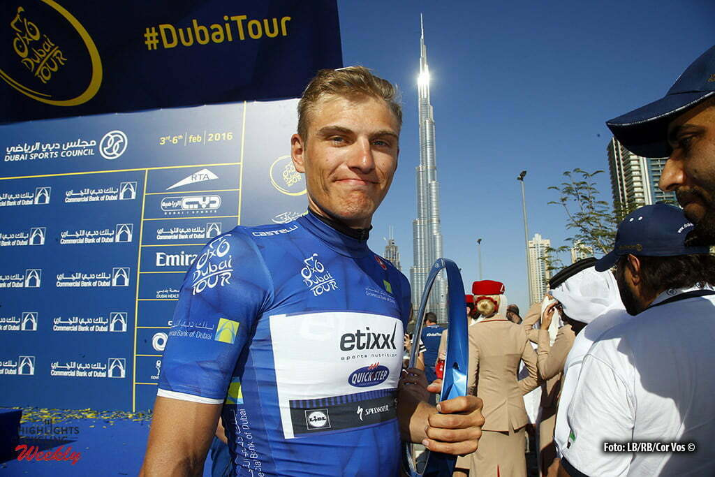 Fujai Dubai rah - Emirates - wielrennen - cycling - radsport - cyclisme - Marcel Kittel (Germany / Team Etixx - Quick Step) pictured during Dubai Tour 2016 - stage 4 from Business Bay Stage Dubai to Dubai 137 Km - 06/02/2016 - photo LB/RB/Cor Vos © 2016