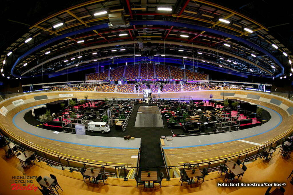 Apeldoorn - Netherlands - wielrennen - cycling - radsport - cyclisme - inside the Cyclingtrack - the start pictured during the days before the start of the Giro D'Italia 2016 in Apeldoorn - photo Gert Bonestroo/Cor Vos © 2016