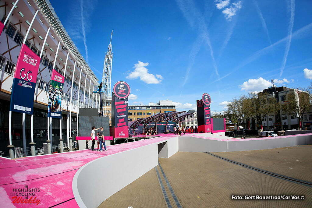 Apeldoorn - Netherlands - wielrennen - cycling - radsport - cyclisme - illustration - sfeer - illustratie pictured during the days before the start of the Giro D'Italia 2016 in Apeldoorn - photo Gert Bonestroo/Cor Vos © 2016