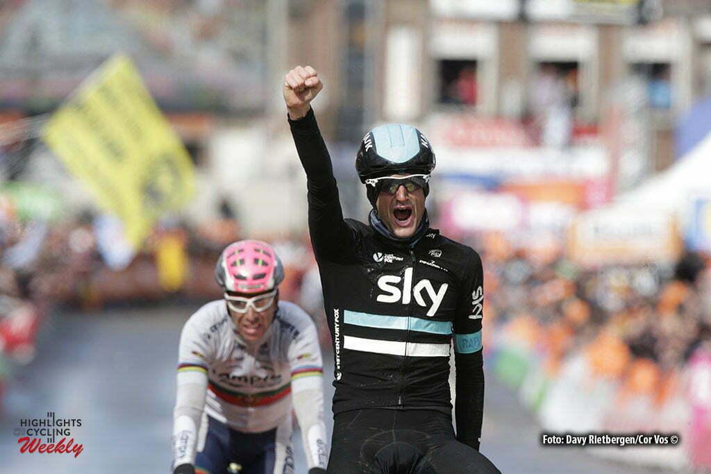 Luik - Belgium - wielrennen - cycling - radsport - cyclisme - Wout Poels Wout (Netherlands / Team Sky) pictured during Liege - Bastogne - Liege 2016 - photo Dion Kerckhoffs/Davy Rietbergen/Cor Vos © 2016