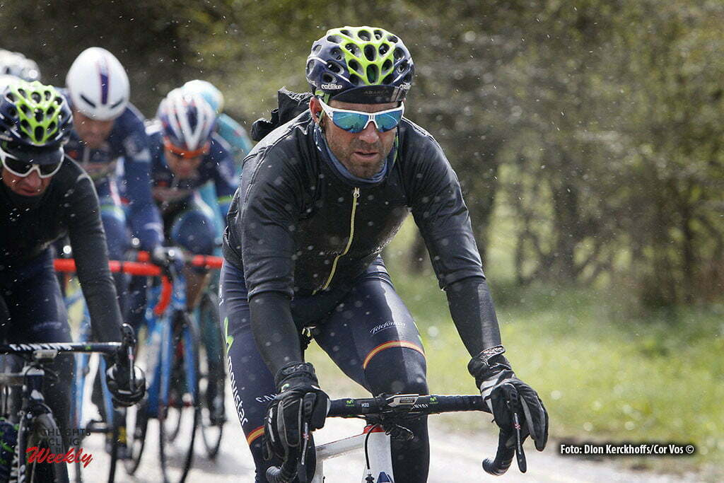 Luik - Belgium - wielrennen - cycling - radsport - cyclisme - Valverde Belmonte Alejandro (Spain / Team Movistar) pictured during Liege - Bastogne - Liege 2016 - photo Dion Kerckhoffs/Davy Rietbergen/Cor Vos © 2016