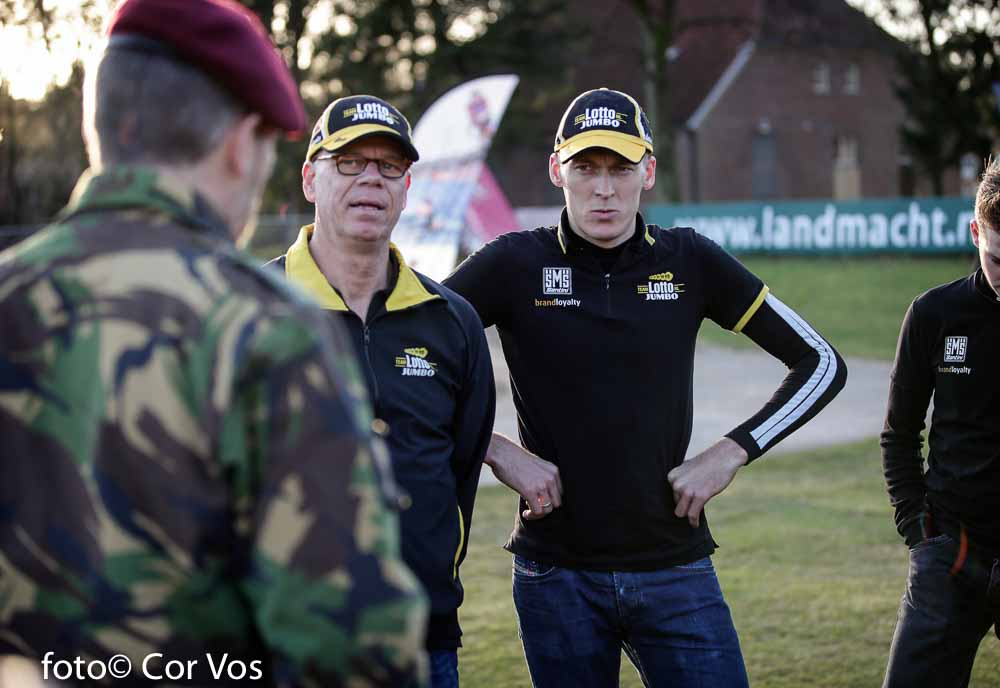 teambuilding Team LottoNL-Jumbo in Schaarsbergen