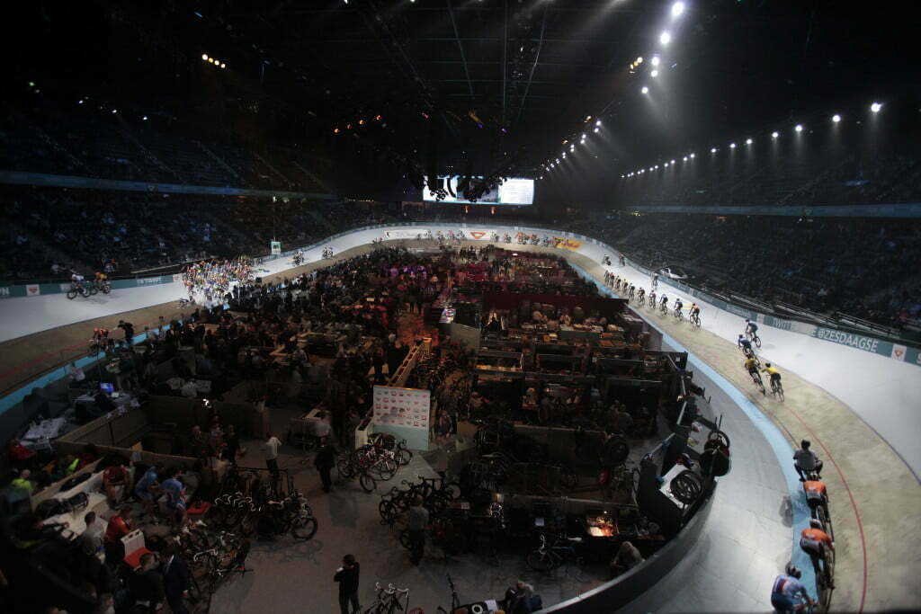 Rotterdam - Netherlands - wielrennen - cycling - radsport - cyclisme - photomontage all disciplines on the track pictured during Sixdays of Rotterdam 2016 - photo Wessel van Keuk/Cor Vos © 2015 PHOTOMONTAGE