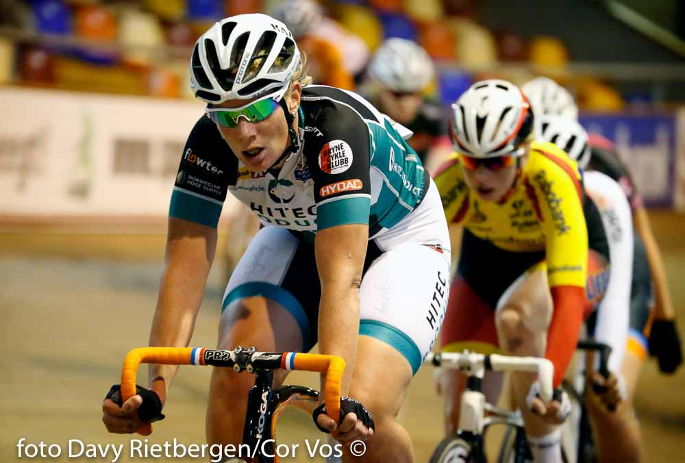 Alkmaar - Netherlands - wielrennen - cycling - radsport - cyclisme - Kirsten Wild pictured during Dutch National Track Championships in Alkmaar, the Netherlands - photo Davy Rietbergen/Cor Vos © 2015