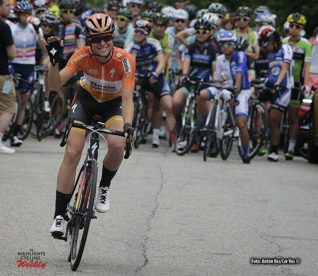 Philadelphia - USA - wielrennen - cycling - radsport - cyclisme - Evelyn Stevens (USA / Boels Dolmans Cycling Team) pictured during the UCI Women's World Tour cycling race in Philadelphia - photo Anton Vos/Cor Vos © 2016