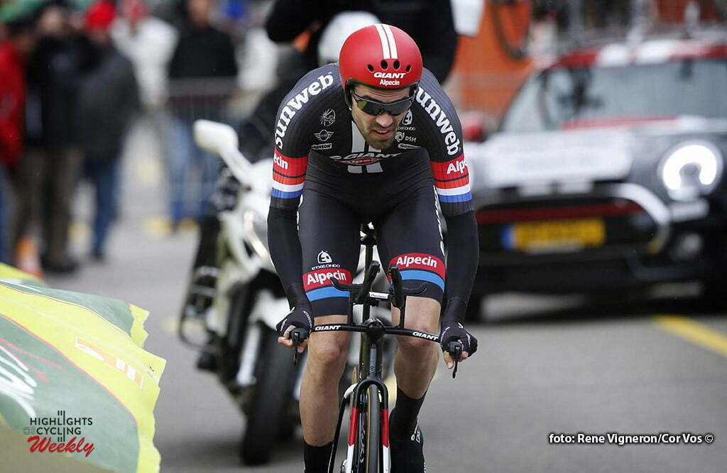 La Chaux-de-Fonds - Suisse - wielrennen - cycling - radsport - cyclisme - Tom Dumoulin (Netherlands / Team Giant - Alpecin) pictured during the Tour of Romandie - prologue - ITT from La Chaux-de-Fonds to La Chaux-de-Fonds - photo Rene Vigneron/Cor Vos © 2016