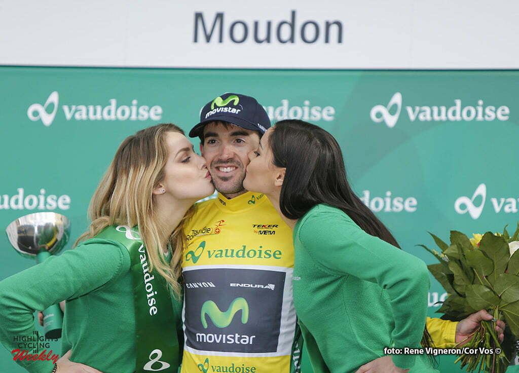 Moudon - Suisse - wielrennen - cycling - radsport - cyclisme - Izaguirre Insausti Jon (Spain / Team Movistar) pictured during the Tour of Romandie - stage 1 from Mathod to Moudon - photo Rene Vigneron/Cor Vos © 2016