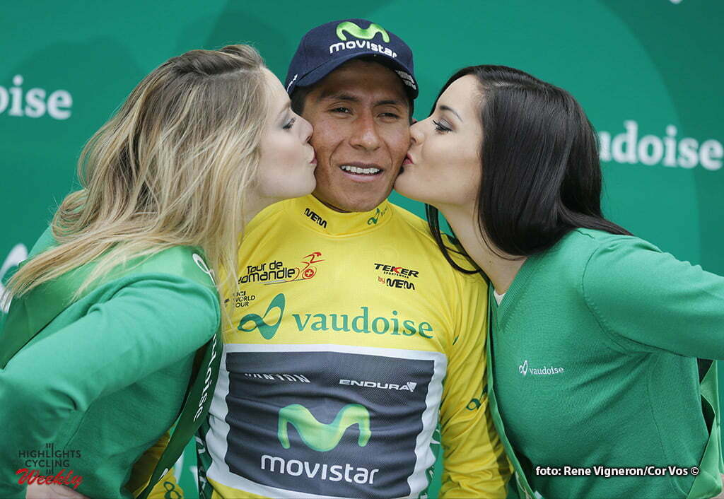 Mourgins - Suisse - wielrennen - cycling - radsport - cyclisme - Quintana Rojas Nairo Alexander (Columbia / Team Movistar) pictured during the Tour of Romandie - stage 2 from Moudon to Mourgins - photo Rene Vigneron/Cor Vos © 2016