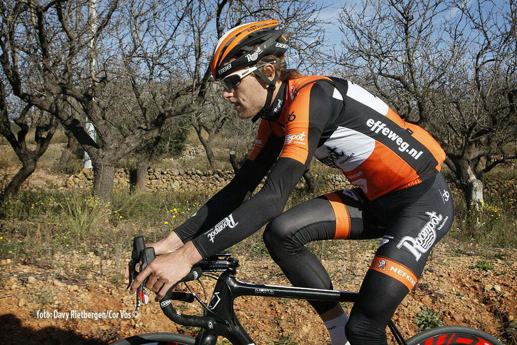 Calpe - Spain - wielrennen - cycling - radsport - cyclisme - Marc de Maar pictured during trainingsstage Team Roompot-Oranjepeloton in Calpe, Spain - photo Davy Rietbergen/Cor Vos © 2015