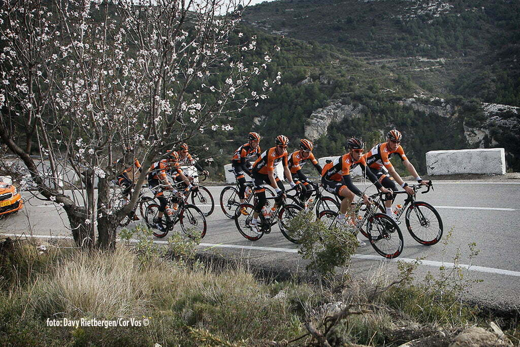 Calpe - Spain - wielrennen - cycling - radsport - cyclisme - illustration - sfeer - illustratie pictured during trainingsstage Team Roompot-Oranjepeloton in Calpe, Spain - photo Davy Rietbergen/Cor Vos © 2015