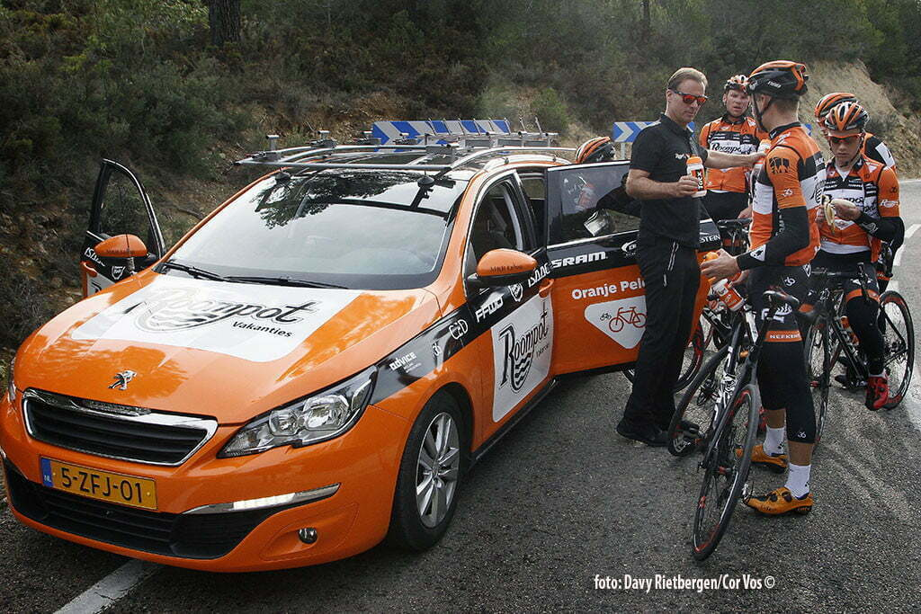 Calpe - Spain - wielrennen - cycling - radsport - cyclisme - Eric Breukink pictured during trainingsstage Team Roompot-Oranjepeloton in Calpe, Spain - photo Davy Rietbergen/Cor Vos © 2015