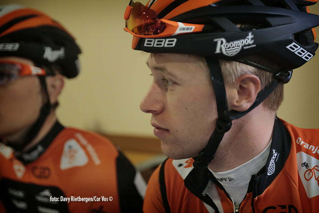 Calpe - Spain - wielrennen - cycling - radsport - cyclisme - Maurits Lammertink pictured during trainingsstage Team Roompot-Oranjepeloton in Calpe, Spain - photo Davy Rietbergen/Cor Vos © 2015