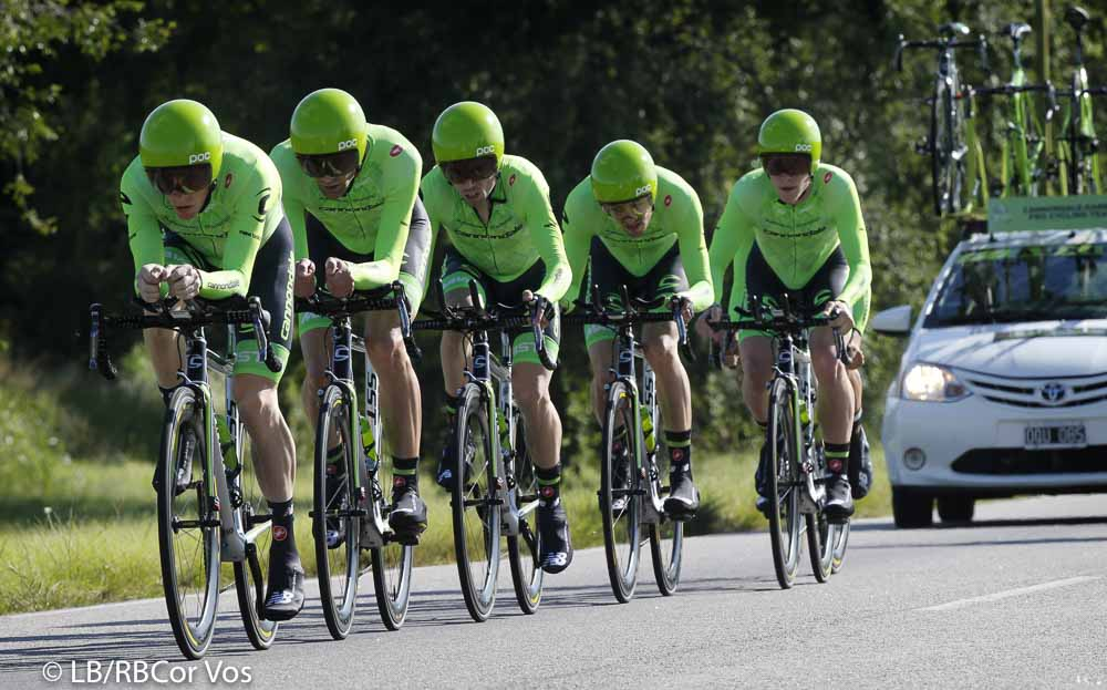 El Durazno - Argentina - wielrennen - cycling - radsport - cyclisme - team Cannondale Pro Cycling Team pictured during Tour San Luis 2016 stage 1 - 22 KM TTT - Team Time Trial from El Durazno - El Durazno - Argentina - photo LB/RB/Cor Vos © 2016