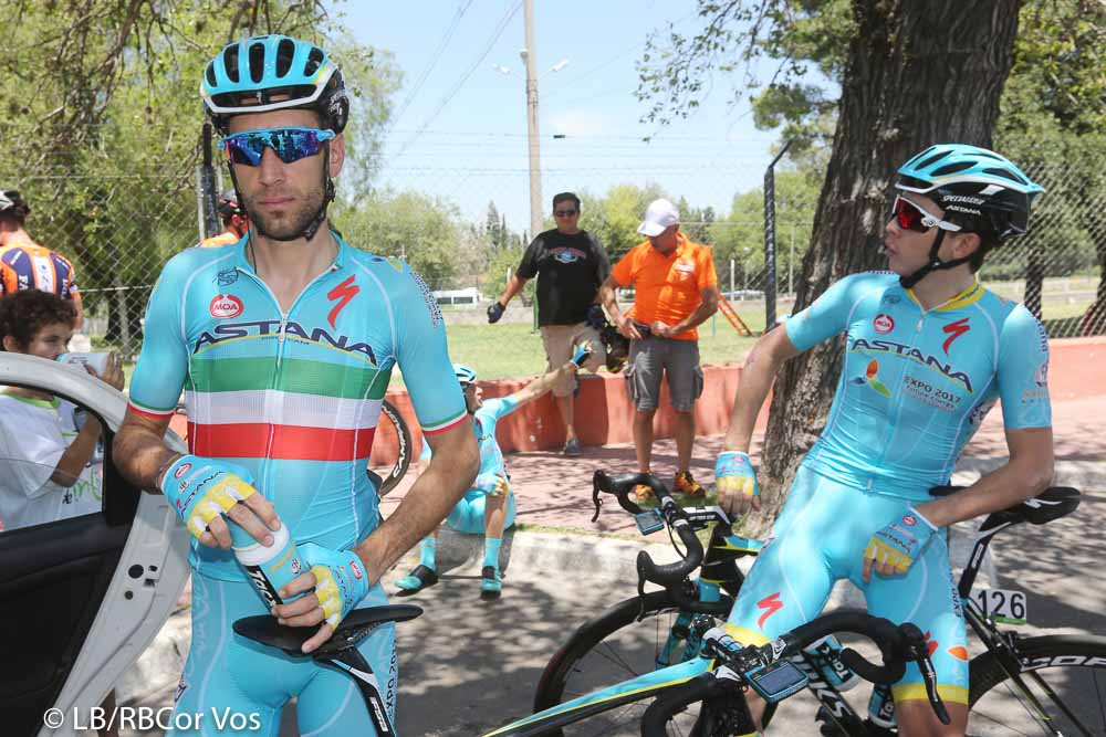 Villa Mercedes - Argentina - wielrennen - cycling - radsport - cyclisme - Vincenzo Nibali (Astana) pictured during Tour San Luis 2016 stage 2 - 22 KM TTT - from San Luis to Villa Mercedes - Argentina - photo LB/RB/Cor Vos © 2016