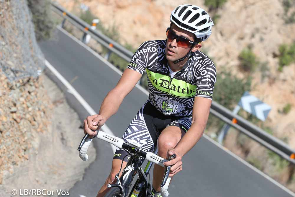 Gran Canaria - Spain - wielrennen - cycling - radsport - cyclisme - Alberto Contador pictured during Trainingstage team Tinkoff - Saxo 2015 - Training Camp - Gran Canaria- photo LB/RB/Cor Vos © 2015