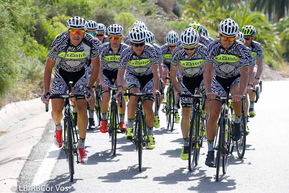 Gran Canaria - Spain - wielrennen - cycling - radsport - cyclisme - team Tinkoff pictured during Trainingstage team Tinkoff - Saxo 2015 - Training Camp - Gran Canaria- photo LB/RB/Cor Vos © 2015