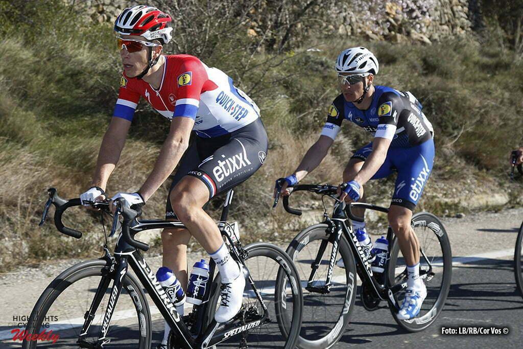 Fredes (Pobla de Benifassa) - Spain - wielrennen - cycling - radsport - cyclisme - Niki Terpstra (Etixx - Quick Step) pictured during Volta a la Comunitat Valenciana 2016 - stage-2 Castellon to Fredes (Pobla de Benifassa) - photo LB/RB/Cor Vos © 2016