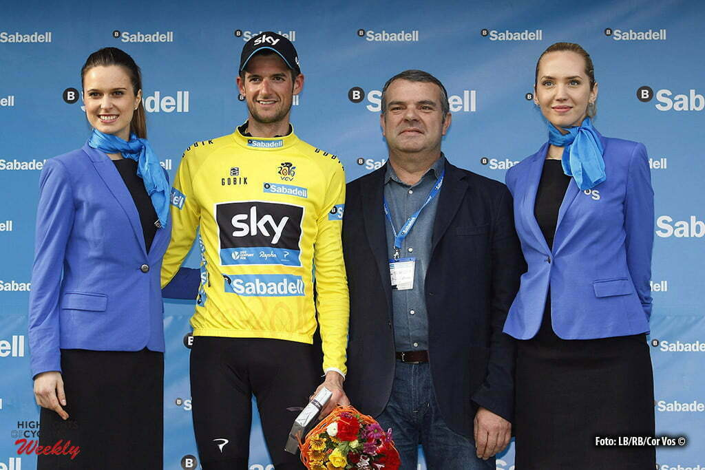 Alzira - Spain - wielrennen - cycling - radsport - cyclisme - Wout Poels (Netherlands / Team Sky) pictured during Volta a la Comunitat Valenciana 2016 - stage-3 Sagunto - Alzira 173.5 km - 05/02/2016 - photo LB/RB/Cor Vos © 2016