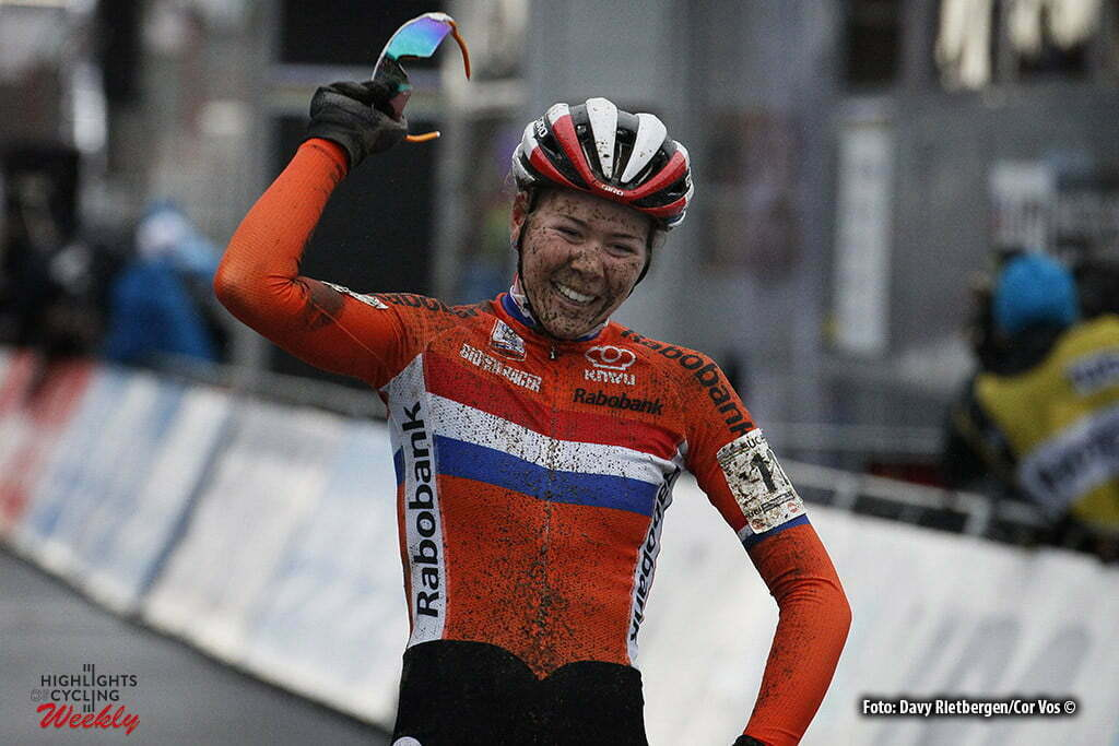 Heusden - Zolder - Belgium - wielrennen - cycling - radsport - cyclisme - Thalita De Jong pictured during World Championships Cyclocross in Zolder 2015 Cat : Elite Women - photo Davy Rietbergen/Cor Vos © 2016