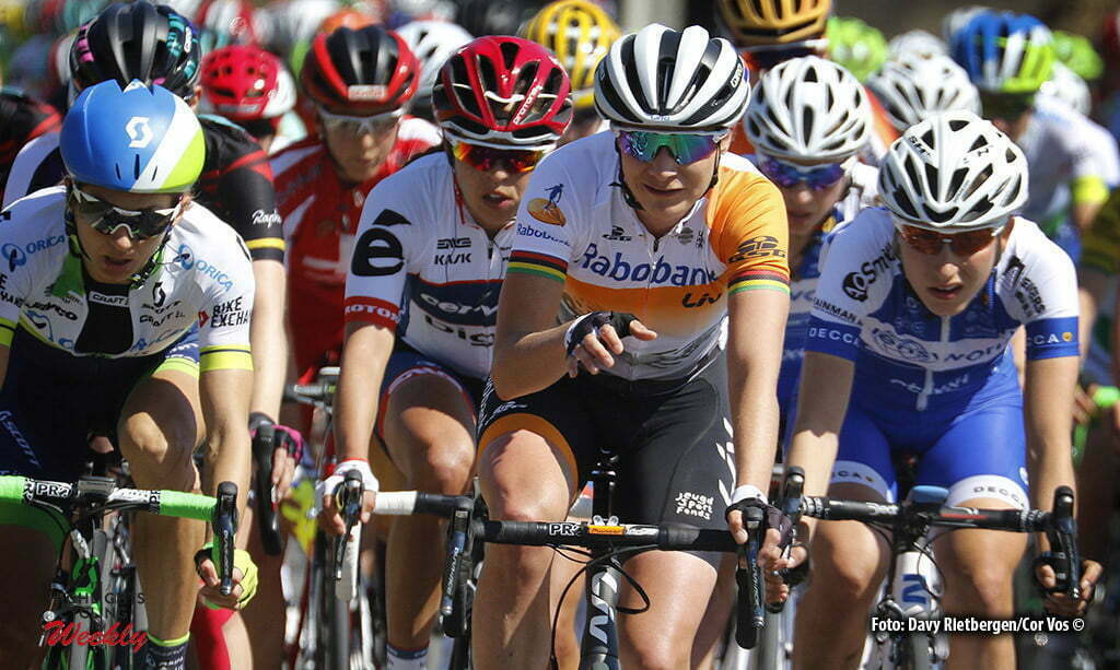Huy - Belgium - wielrennen - cycling - radsport - cyclisme - pictured during Fleche Wallonne women - photo Davy Rietbergen/Cor Vos © 2016