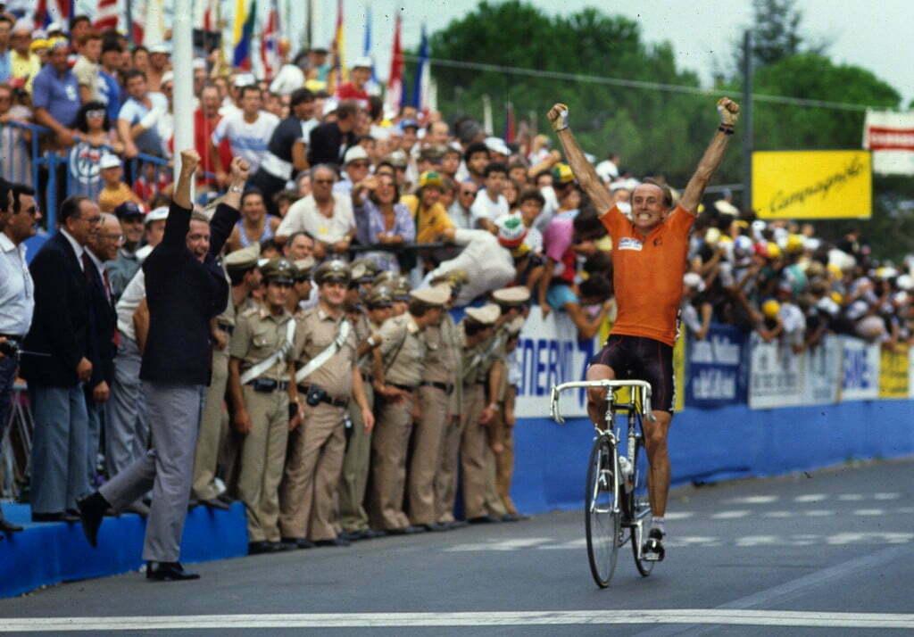 Hoogvliet - wielrennen - cycling - radsport - cyclisme - Joop Zoetemelk color-slides - archief - archieve - stock - foto Cor Vos ©2008