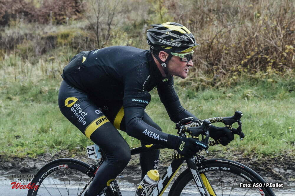 Tour de Yorkshire 2016 - 01/05/2016 - Troisieme etape : Middlesbrough / Scarborough (198km) - Royaume-Uni - VOECKLER Thomas; Team Direct Energie