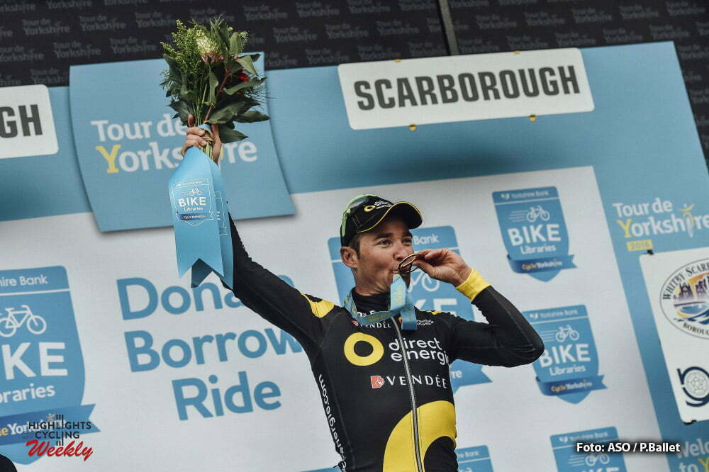 Tour de Yorkshire 2016 - 01/05/2016 - Troisieme etape : Middlesbrough / Scarborough (198km) - Royaume-Uni - VOECKLER Thomas; Team Direct Energie - vainqueur d'etape