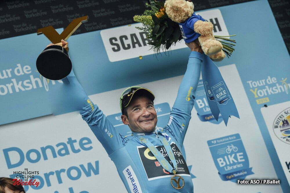 Tour de Yorkshire 2016 - 01/05/2016 - Troisieme etape : Middlesbrough / Scarborough (198km) - Royaume-Uni - VOECKLER Thomas; Team Direct Energie - vainqueur au classement general du Tour du Yorkshire 2016
