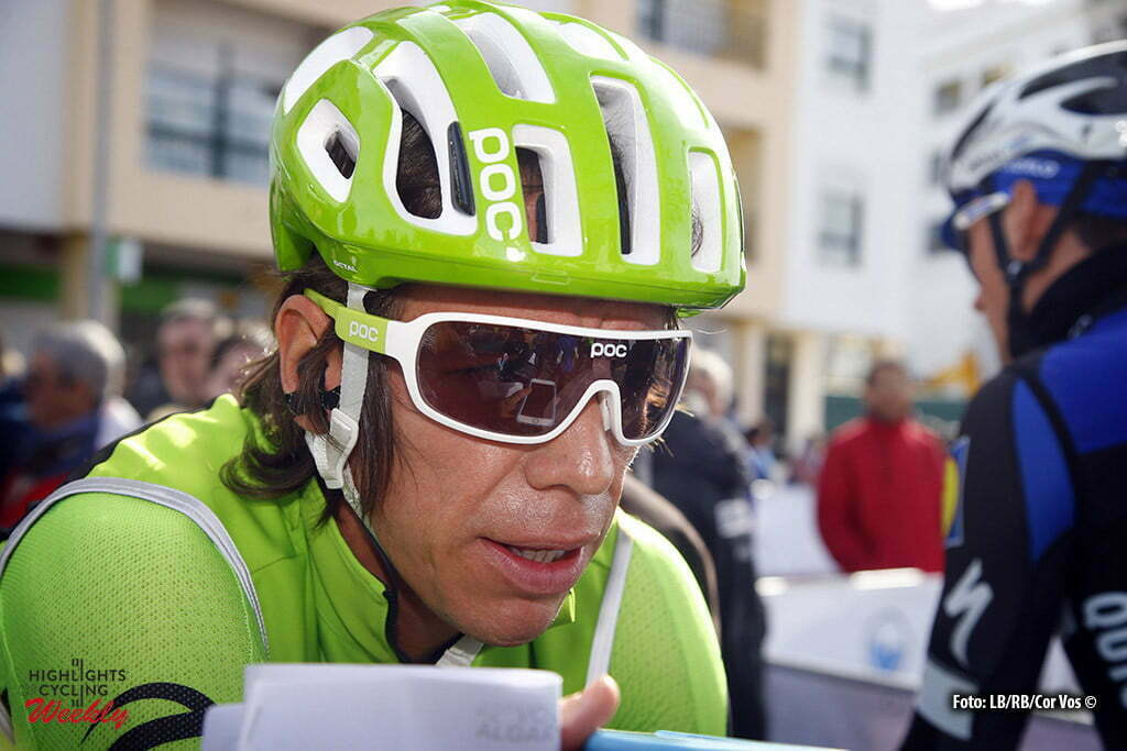 Alto da Foia - Portugal - wielrennen - cycling - radsport - cyclisme - Rigoberto Uran (Cannondale) pictured during Volta Algarve 2016 - stage 2 from Lagoa to Alto da Foia 198,6 Km - photo LB/RB/Cor Vos © 2016