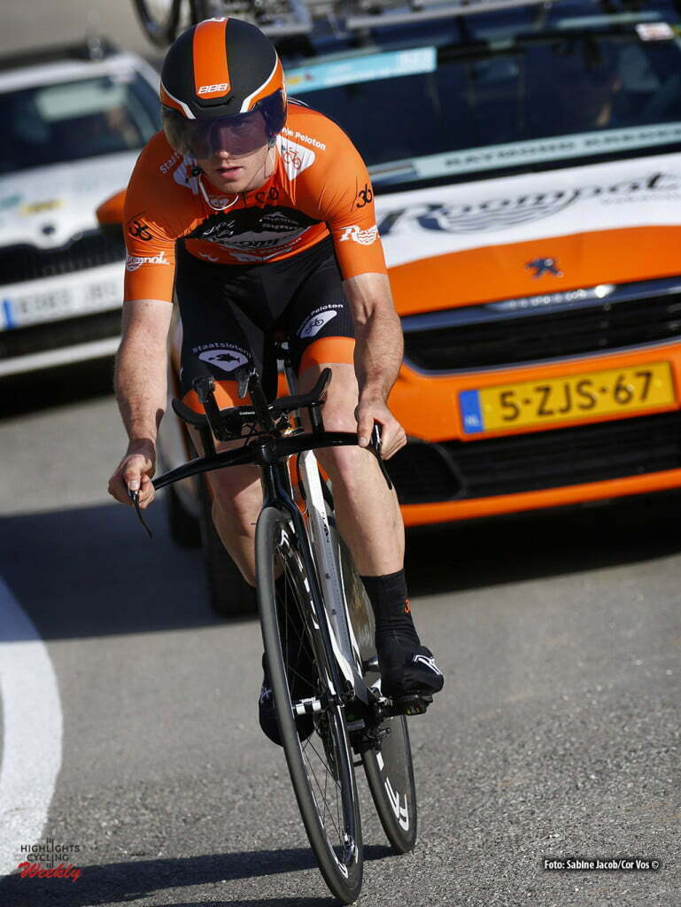 Alhaurín de la Torre - Spain - wielrennen - cycling - radsport - cyclisme - Raymond Kreder (Netherlands / Roompot - Oranje Peloton) pictured during Vuelta a Andalucia Ruta Ciclista Del Sol 2016 stage 4 - from Alhaurín de la Torre - Alhaurín de la Torre 21KM - ITT individual Time Trial - photo Sabine Jacob/Cor Vos © 2016