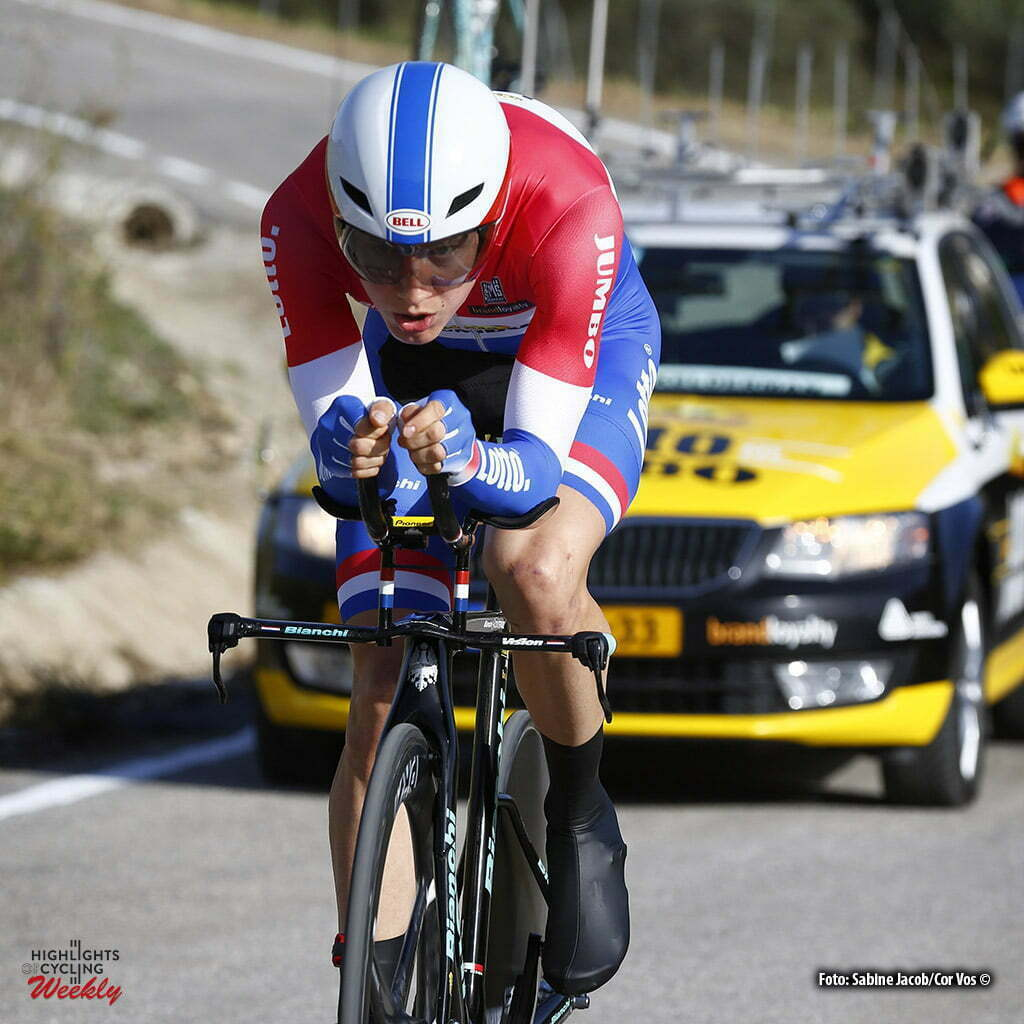 Alhaurín de la Torre - Spain - wielrennen - cycling - radsport - cyclisme - Wilco Kelderman (Netherlands / Team Lotto Nl - Jumbo) pictured during Vuelta a Andalucia Ruta Ciclista Del Sol 2016 stage 4 - from Alhaurín de la Torre - Alhaurín de la Torre 21KM - ITT individual Time Trial - photo Sabine Jacob/Cor Vos © 2016