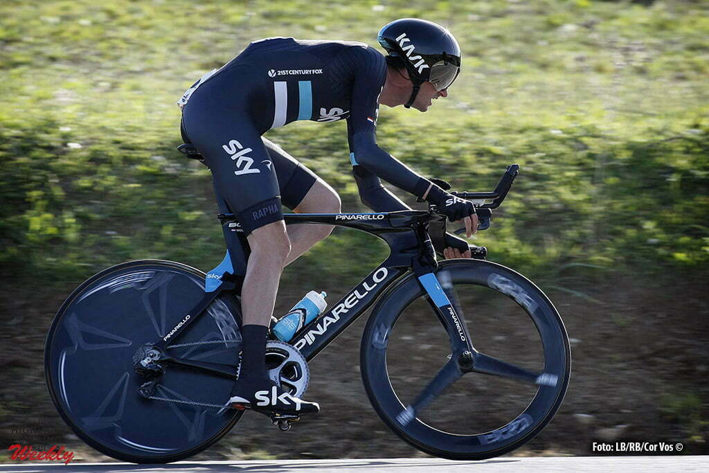 Alhaurín de la Torre - Spain - wielrennen - cycling - radsport - cyclisme - Wout Poels (Team Sky) pictured during Vuelta a Andalucia Ruta Ciclista Del Sol 2016 stage 4 - from Alhaurín de la Torre - Alhaurín de la Torre 21KM - ITT individual Time Trial - photo LB/RB/Cor Vos © 2016
