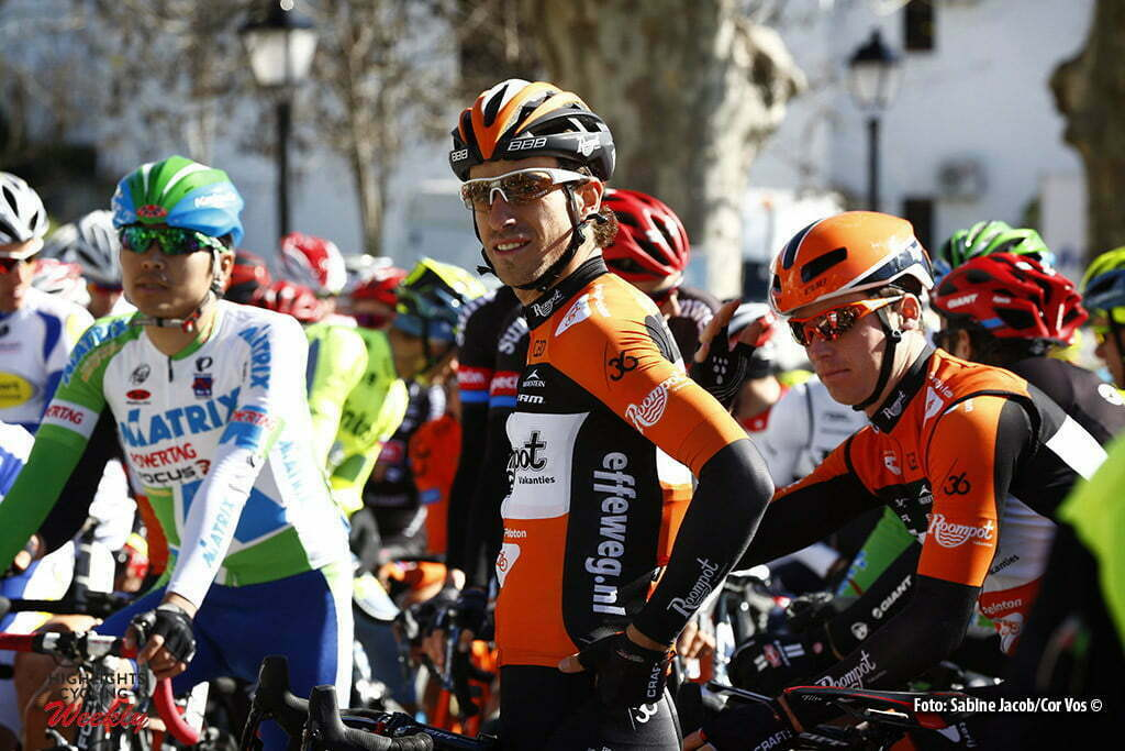 Sevilla - Spain - wielrennen - cycling - radsport - cyclisme - Reinier Honig (Netherlands / Roompot - Oranje Peloton)