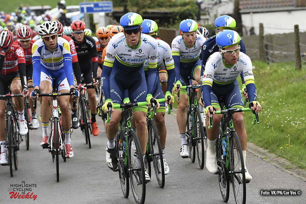 Overijse - Belgium - wielrennen - cycling - radsport - cyclisme - Hayman Mathew (Australia / Team Orica Greenedge) pictured during the 56th Brabantse Pijl cycling race with start in Leuven and finish in Overijse (205 Km) on April 13, 2016 in Overijse , Belgium - photo VK/PN/Cor Vos © 2016